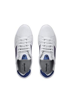 Roberto Botticelli Erkek Beyaz Deri Sneaker 3