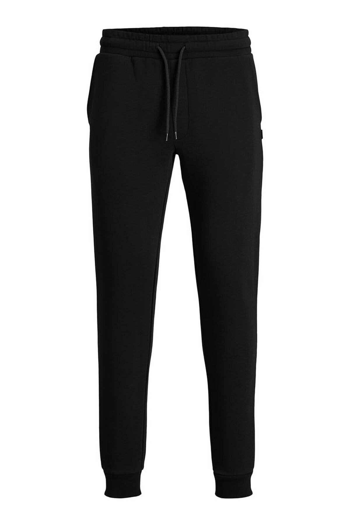 Erkek Siyah Eşofman Gordon Soft Sweatpants - 12195726