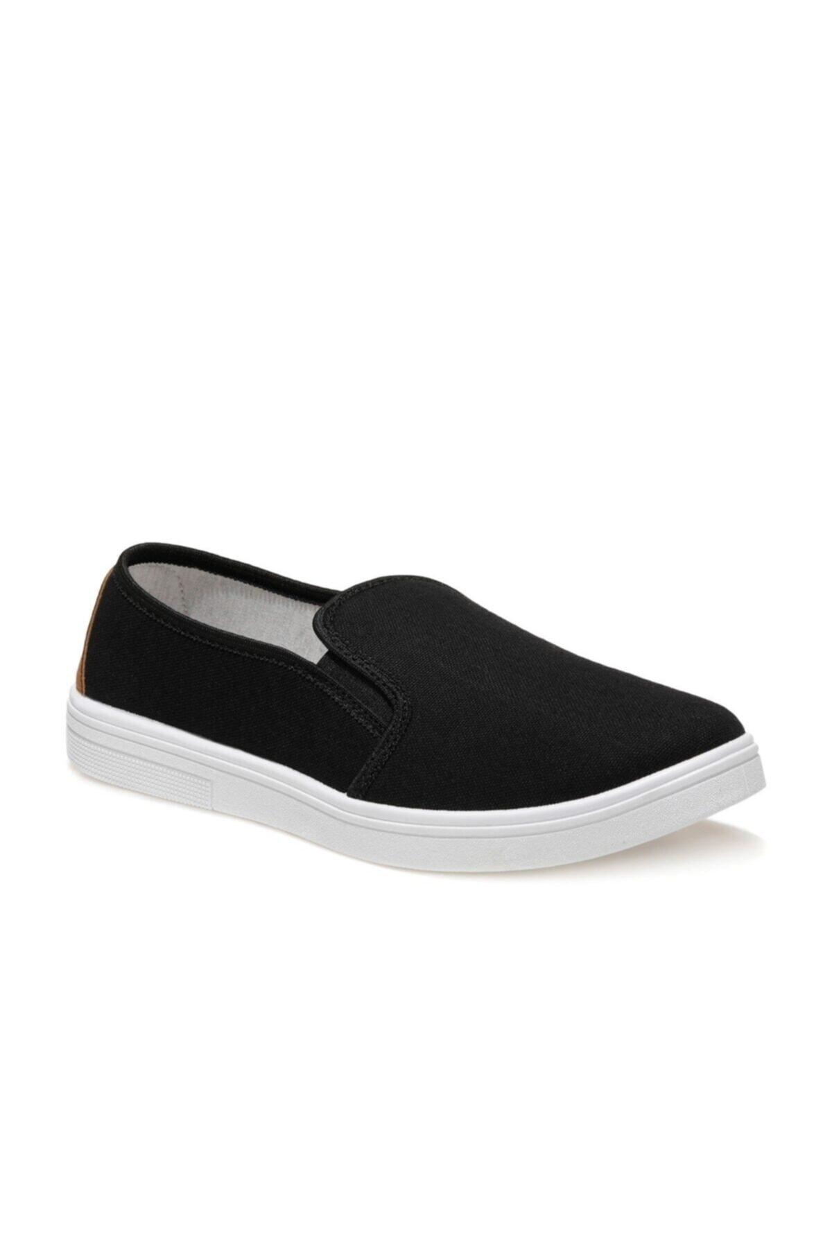 356735.M1FX Siyah Erkek Slip On Ayakkabı 100936276
