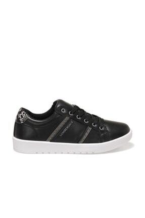 Lumberjack KAMILLA 1FX Siyah Kadın Havuz Taban Sneaker 100911272 1