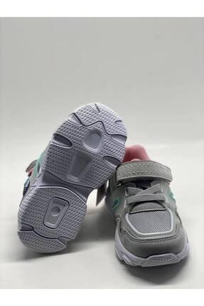 Jump Unisex Gri Bebek Spor Ayakkabı 3