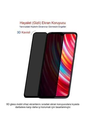 Telehome Xiaomi Redmi Note 8 Pro Ekran Koruyucu Gizli Hayalet Cam (9d Tam Kaplama) 1