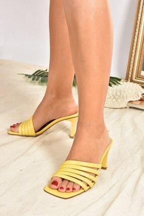 Fox Shoes Kadın SarıTerlik K494566309 2