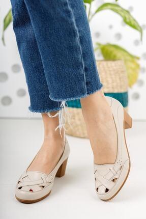 Diego Carlotti Hakiki Deri Kadın Topuklu Günlük Klasik Ayakkabı 2