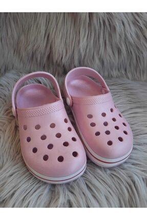 Akınalbella Kız Çocuk Pudra Renk Crocs Terlik 1