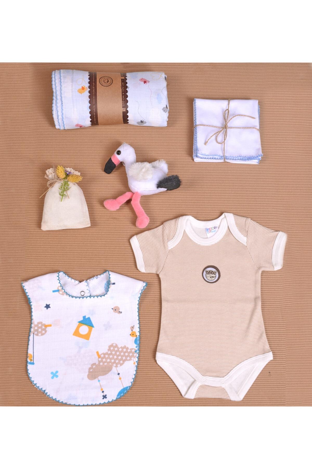 İpeksi Baby Organik Hediye Kutusu Yenidoğan Bebek