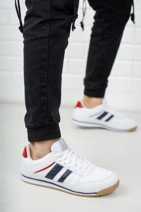 Moda Frato Erkek Beyaz  Sneaker Xstreet 655 4