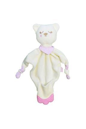 Babyjem Beyaz Baby Jem Diş Kaşıyıcılı Uyku Arkadaşım 603 1