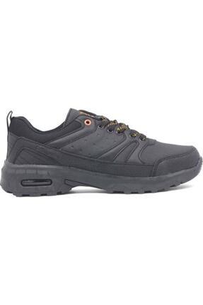 Erkek Siyah Bağcıklı Yürüyüş Ayakkabısı 100564474 Verso Kinetix Verso Siyah Turuncu
