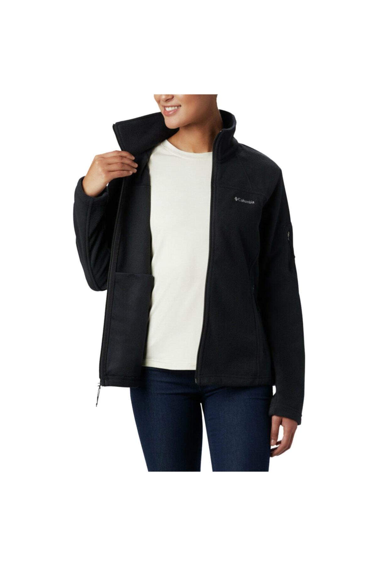 Columbia Kadın Siyah Fast Trek Jacket Polar