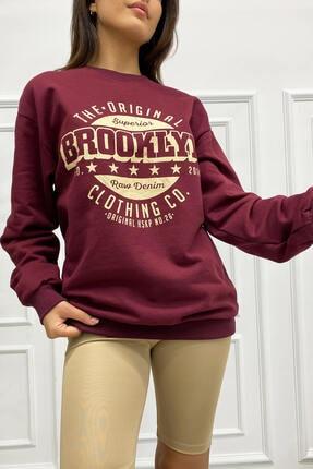 Eka 0939-0231 Broklyn Baskılı Şardonlu Sweatshirt 0