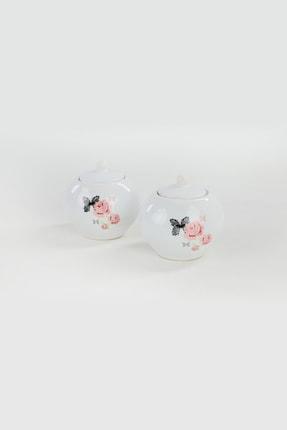 Keramika Gül Trend Şekerlik 10 Cm 2 Adet 1