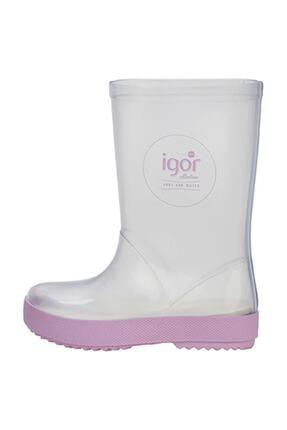 IGOR SPLASH CRISTAL Lila Unisex Çocuk Yağmur Çizmesi 100386381 1