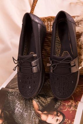 Soho Exclusive Platin-Siyah  Kadın Casual Ayakkabı 15429 1