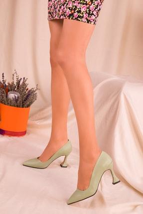 Soho Exclusive Yeşil  Kadın Klasik Topuklu Ayakkabı 15953 1