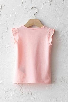 LC Waikiki Kız Bebek Pembe Ftg T-Shirt 1
