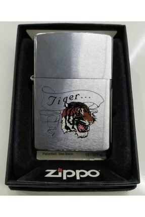 Metalik Tiger Çakmak Zippo Tiger