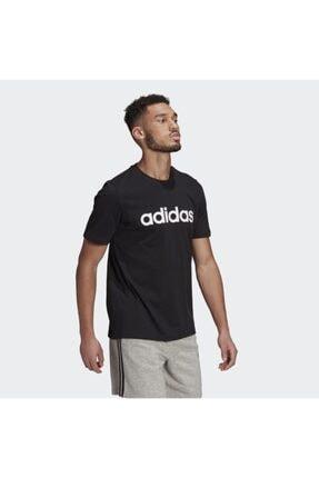 adidas Unisex Siyah  Lın Sj T T-shırts Gl0057 3