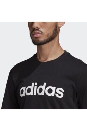 adidas Unisex Siyah  Lın Sj T T-shırts Gl0057 4