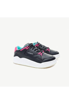 Lacoste Court Slam Kadın Siyah Spor Ayakkabı 1