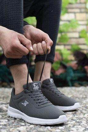 Riccon Füme Beyaz Unisex Sneaker 0012065 1
