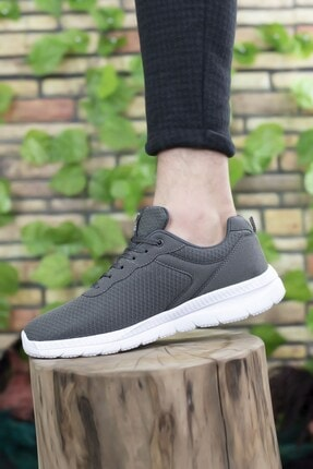 Riccon Füme Beyaz Unisex Sneaker 0012065 4