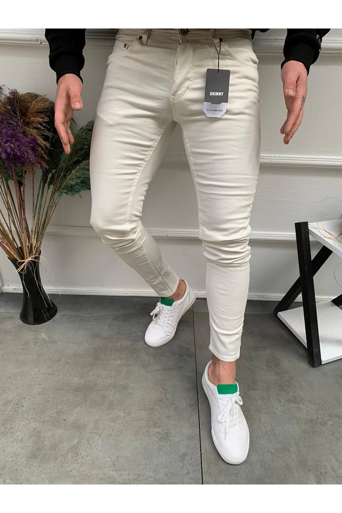 Erkek Taş Slim Fit Pantolon