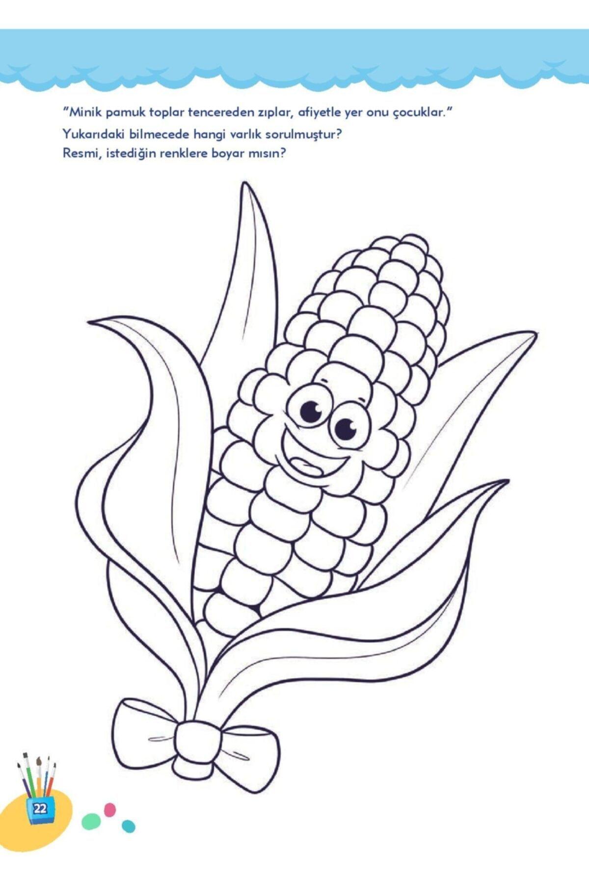 Limonkids Zenginleştirilmiş Boyama Kitabı 5-6 Yaş