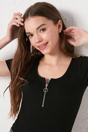 LC Waikiki Kadın Yeni Siyah Bluz 2