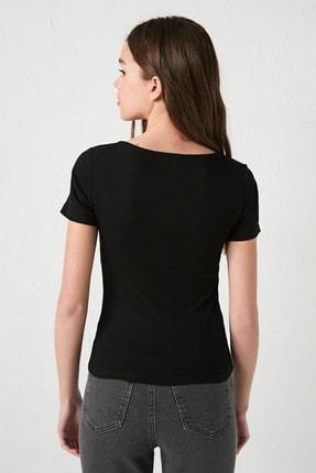 LC Waikiki Kadın Yeni Siyah Bluz 4