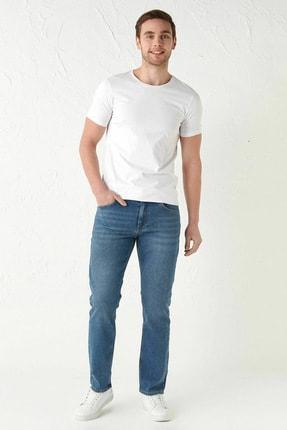 LC Waikiki Erkek Orta Rodeo Jeans 0