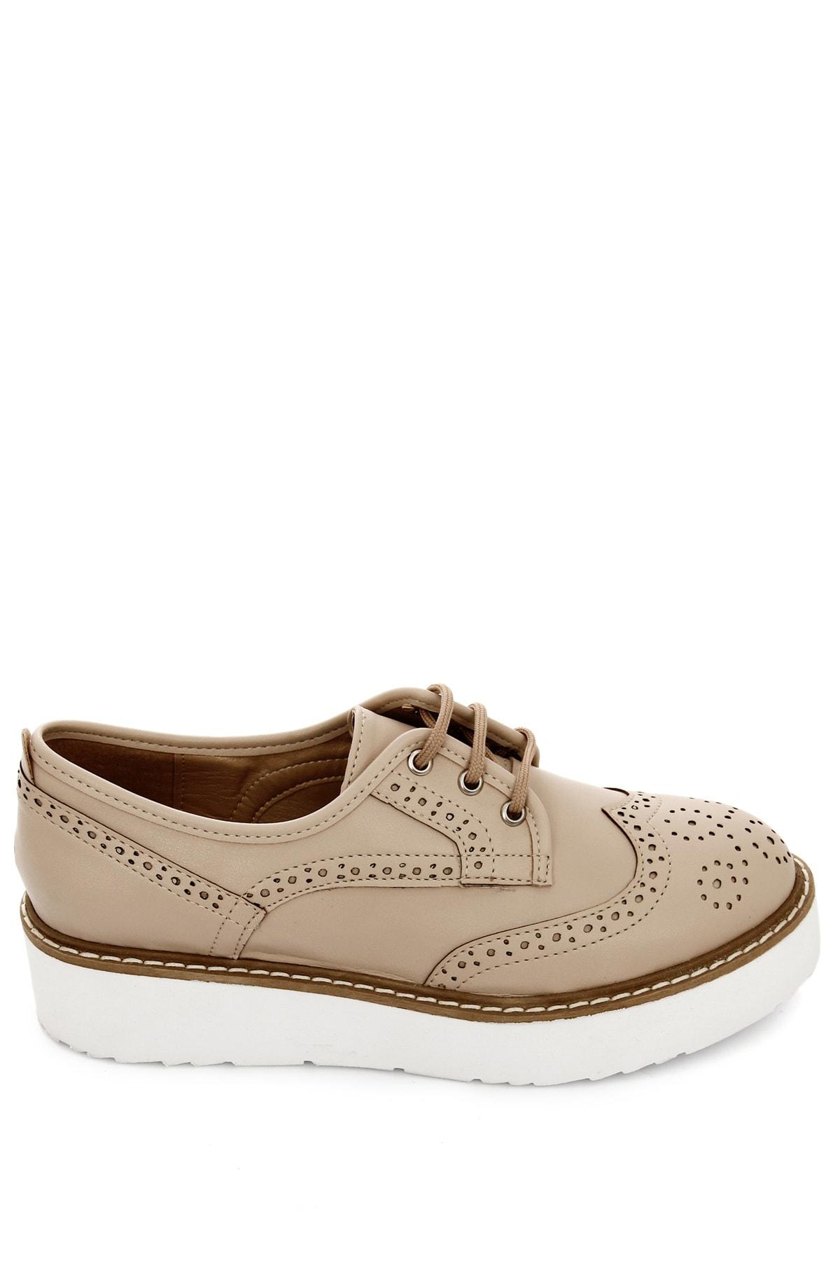 GÖNDERİ(R) Ten Kadın Günlük (Casual) Ayakkabı 38911 1