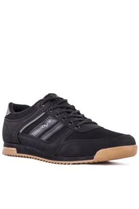 Slazenger ACTIVE Sneaker Erkek Ayakkabı Siyah / Siyah SA10LE021 1