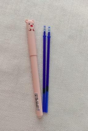 EZM home dekor Pembe Hayvan Figürlü Isı Ile Uçan Kalem Ve Mavi Kalem Içi 0