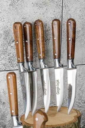 Gezgin Bıçak Premium Paslanmaz Çelik 9 lu Bıçak Seti 2