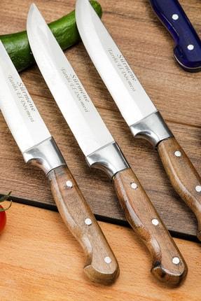 Gezgin Bıçak Premium Paslanmaz Çelik 6'lı Mutfak Bıçak Seti 2