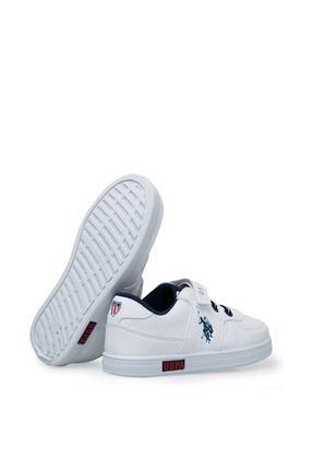 US Polo Assn Cameron Beyaz Erkek Çocuk Sneaker Ayakkabı 100380400 3