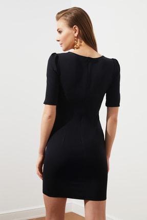 TRENDYOLMİLLA Siyah Kulplu  Elbise TPRSS20EL3190 3