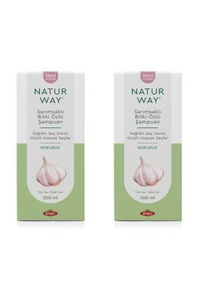 Otacı Naturway Sarımsaklı Bitki Özlü Şampuan 500 ml X 2 Adet 0