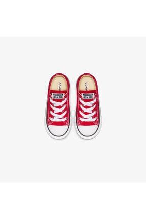 Converse Chuck Taylor All Star Bebek Kırmızı Sneaker 3