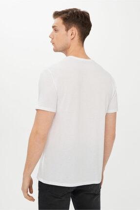 Kiğılı V Yaka Slim Fit Tişört 3