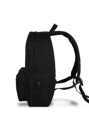 My Valice Smart Bag Specta Usb Şarj Girişli Akıllı Sırt Çantası Siyah 1