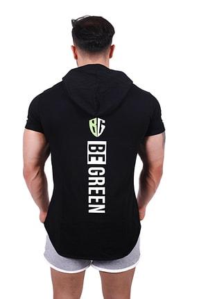 Be Green Erkek Siyah T-Shirt 2