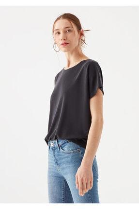 Mavi Lux Touch Siyah Modal Tişört 2
