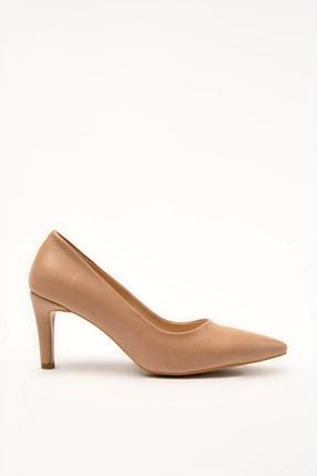 Hotiç Camel Kadın Klasik Topuklu Ayakkabı 01AYH207110A340 1