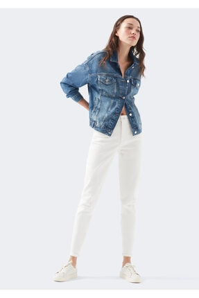 Mavi Bıanca Icon Kırık Beyaz Jean Pantolon 0