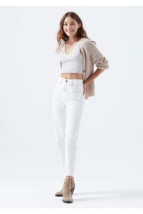 Mavi Kadın Lola Gold Icon Beyaz Jean Pantolon 101076-32652 1