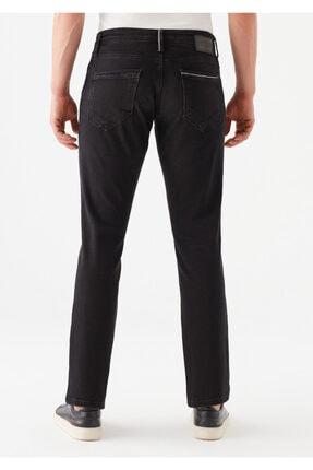 Mavi Erkek Marcus  Black Zımparalı Siyah Jean Pantolon 0035133159 3