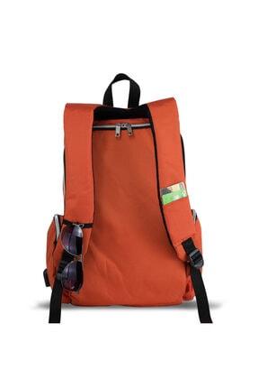 My Valice Smart Bag Mother Star Usb'li Anne Bebek Bakım ve Sırt Çantası Turuncu 3