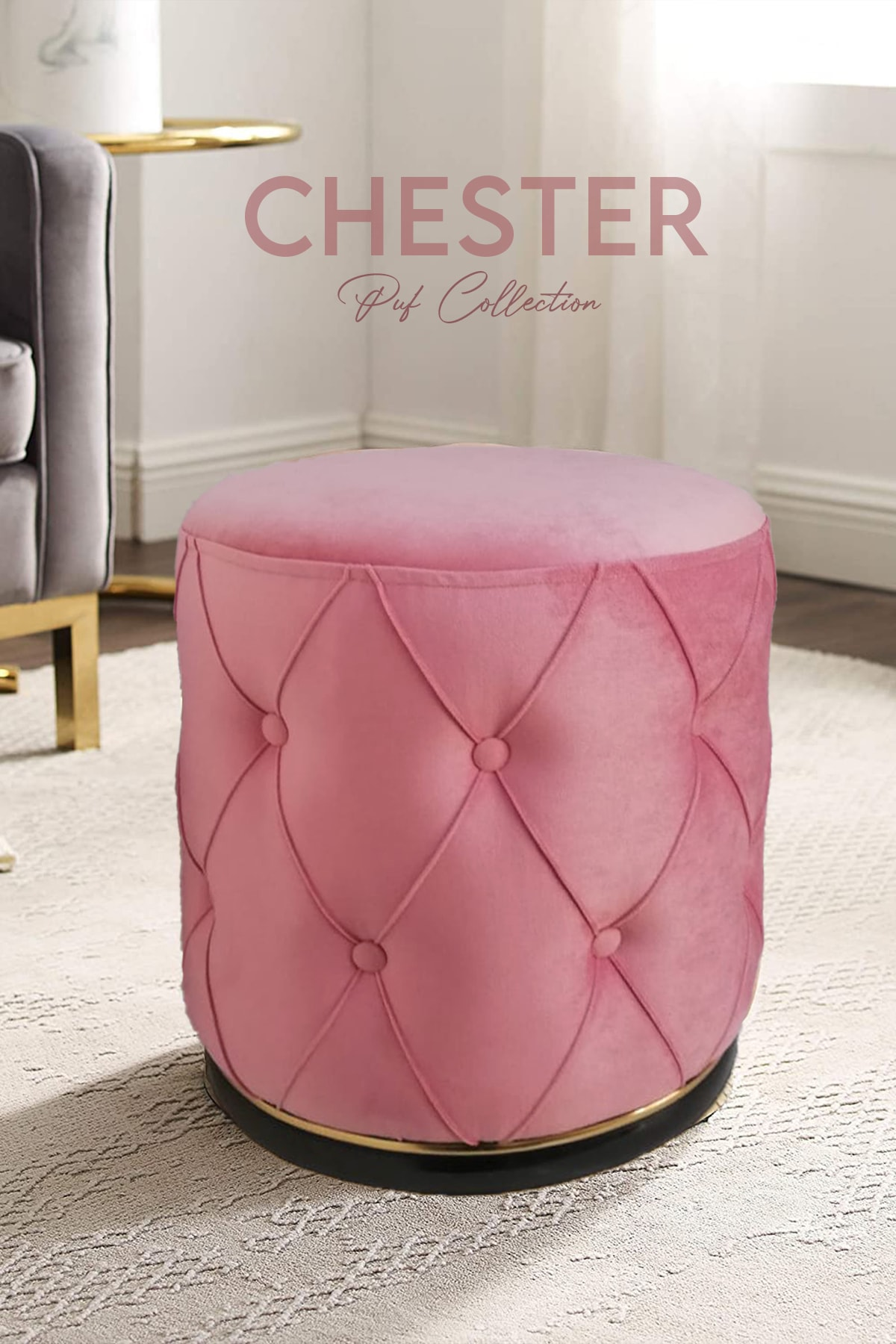 Lunge Chester Rose - Gold Puf